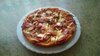 видео Пицца в мультиварке (на 2 шт.) - пошаговый рецепт