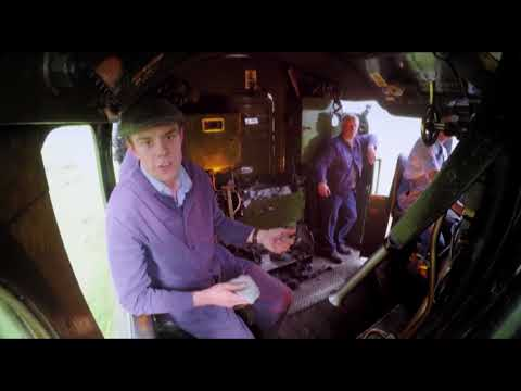 The Flying Scotsman From the Footplate