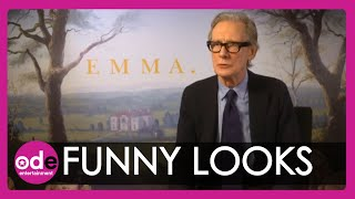 Emma: Bill Nighy talks funny looks and heavy clothes