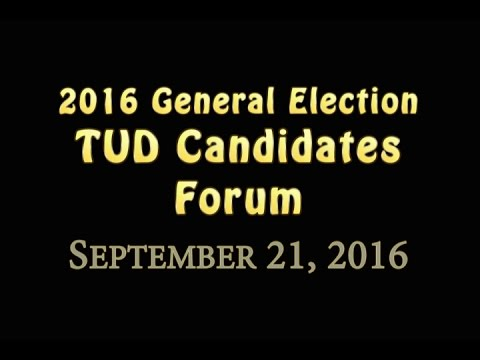 TUD Forum by Clarke Broadcasting - September 21, 2016