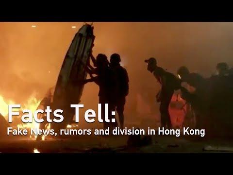 Facts Tell: Fake News, Rumors And Division In Hong Kong