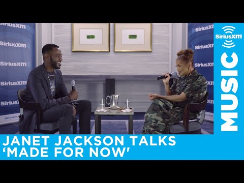Janet Jackson talks about her new song 'Made For Now'