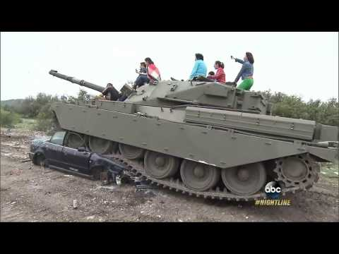 Drive a tank in Texas? Blow stuff up on this company's battleground