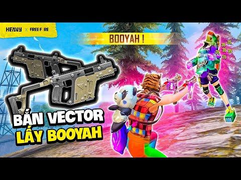 Thử thách săn kill lấy Booyah chỉ dùng Vector đôi | HEAVY Free Fire