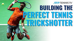 Building the Perfect Tennis Player: Trickshot Edition!