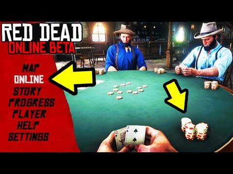 ONLINE POKER & MONEY GAMBLING in Red Dead Online! New Upcoming Updates & Possible DLCs in RDR2! - 동영상