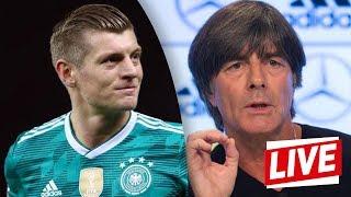DFB-PK vor Frankreich-Hammer mit Jogi Löw und Toni Kroos   Nations League   ReLive
