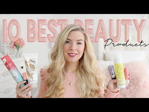 TOP 10 BEAUTY PRODUCTS FOR MUMS/MOMS | KATE MURNANE
