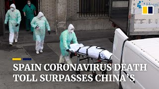 With 3,434 coronavirus deaths, Spain overtakes China in Covid-19 death toll