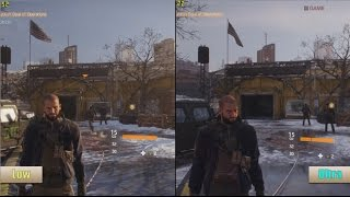 The Division PC Ultra Vs Low Graphics Benchmarks