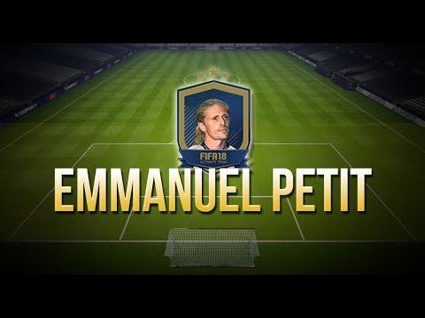 FIFA18 - SBC EMMANUEL PETIT