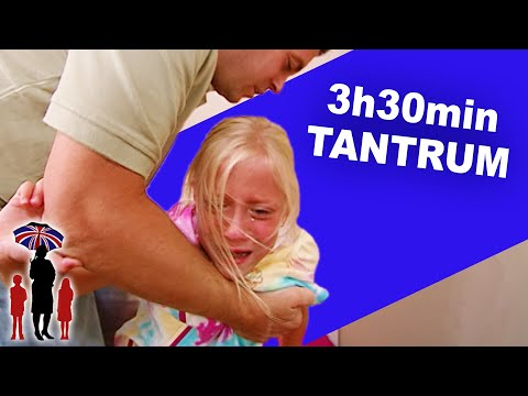 Supernanny | Kid Throws a Fit for 3+ Hours!