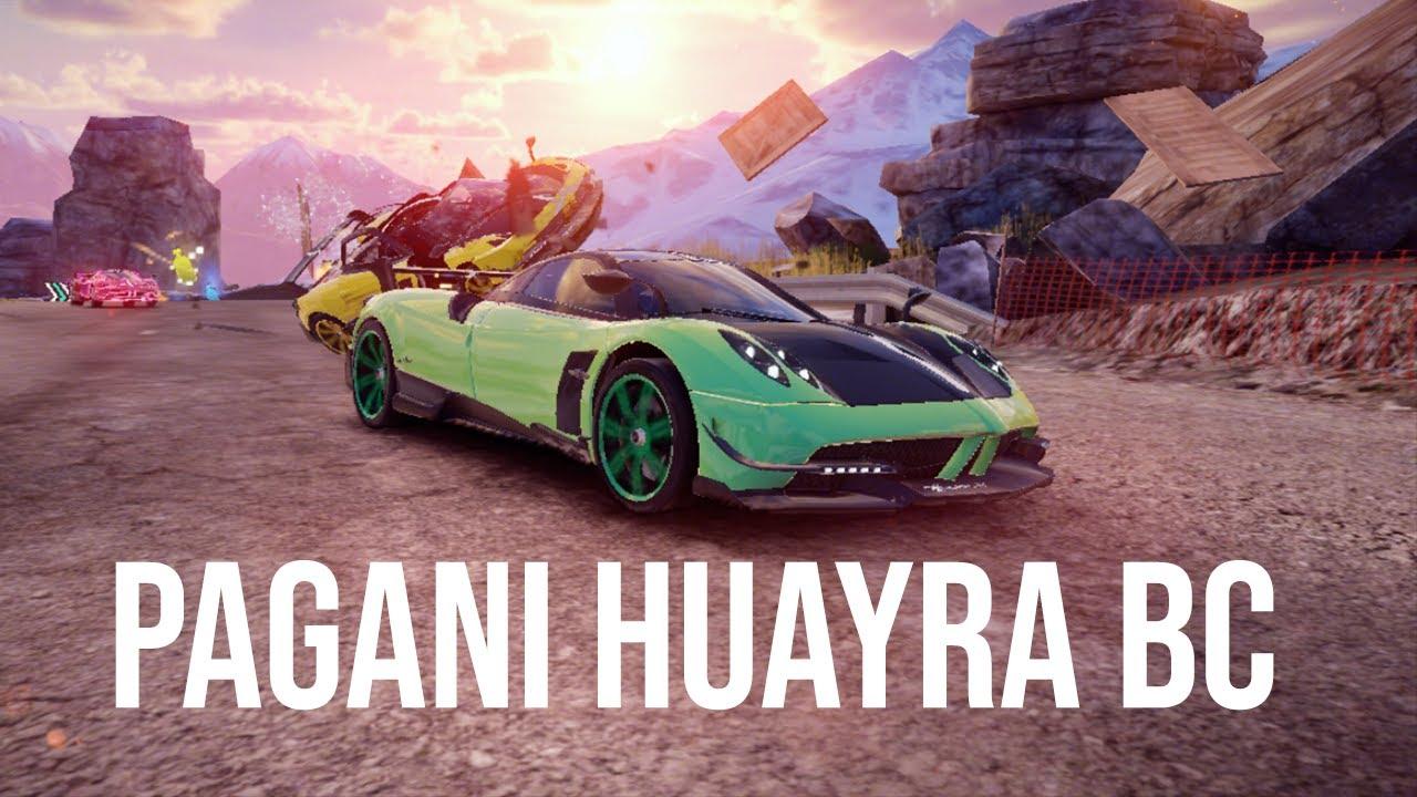 asphalt 9 | pagani huayra bc contest | 01:45.316 - youtube