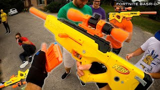 NERF GUNS for Nerf Gun Game 14.0!