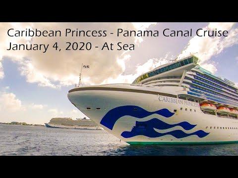 Caribbean Princess Panama Canal Cruise Day 2, 1/4/20 At Sea