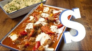 Paprika Pork with Couscous Recipe - SORTED
