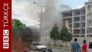 Midyat Emniyet Müdürlüğü'ne bombalı saldırı - BBC TÜRKÇE
