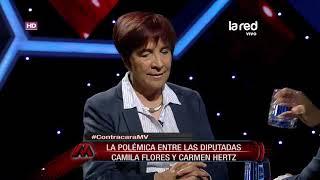 Diputada Carmen Hertz se refiere a opiniones de la diputada Camila Flores