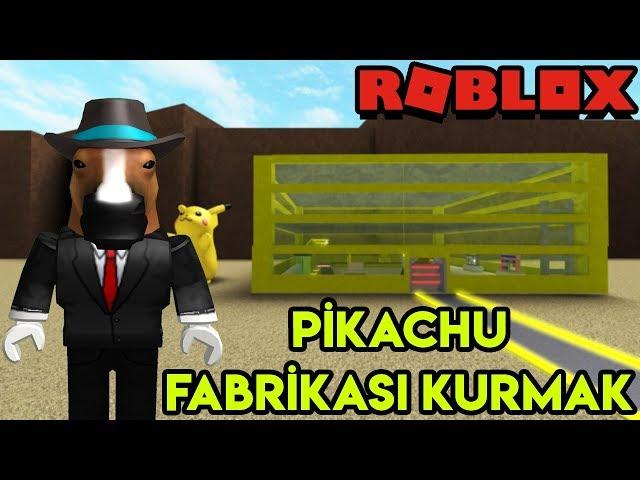 ⚡ Kendi Pikachu Fabrikamızı Kuruyoruz ⚡ | Pikachu Tycoon | Roblox Türkçe