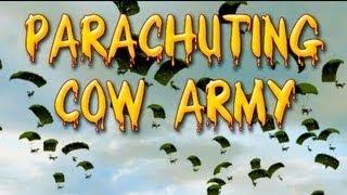DayZ Mod: Parachuting Cows!