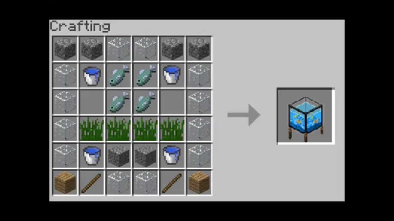 Minecraft Crafting Ideas Youtube
