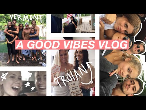 WEEKEND VLOG: Meeting a Celebrity, Vermont with My Best Friends