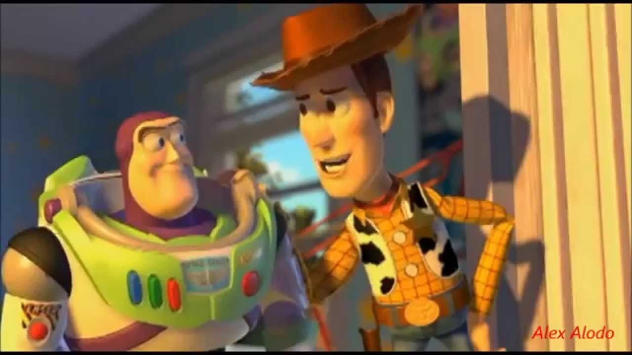 Buzz and woody friends