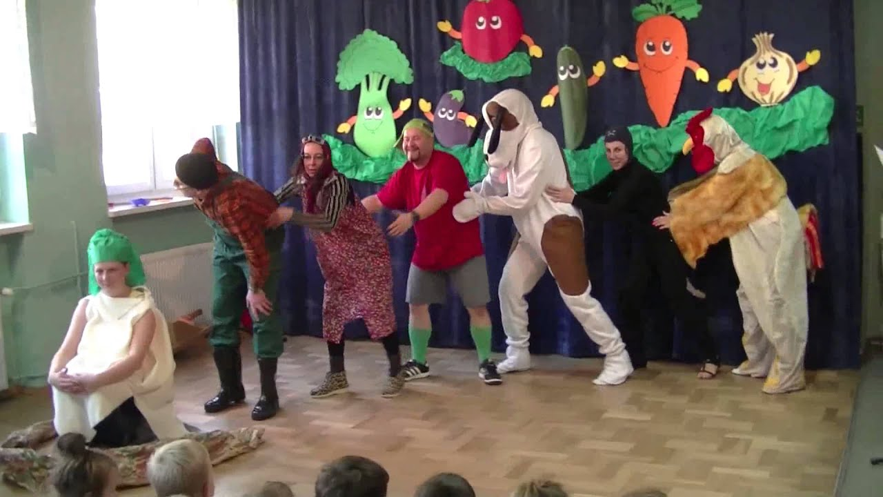 Rzepka J Tuwim Przedstawienie Rodziców Dla Dzieci W Miejskim Przedszkolu Nr 12 W Częstochowie