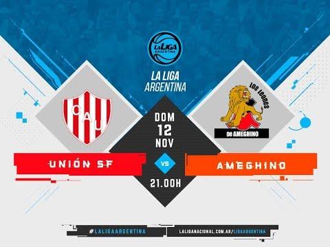 #LaLigaArgentina   12.11 Unión de Santa Fe vs. Ameghino