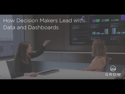 How Decision Makers Lead with Data and Dashboards