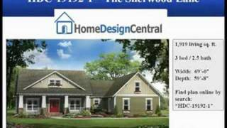 Www.homedesigncentral.com - Craftsman Style House Plans