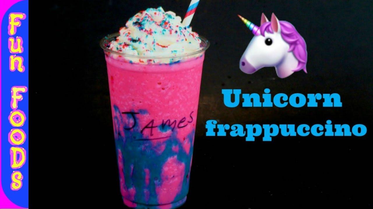 How To Make Homemade Unicorn Frappuccino