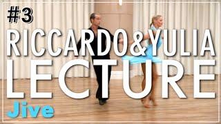 【Jive】 LECTURE#3 Riccardo Cocchi & Yulia Zagoruychenko