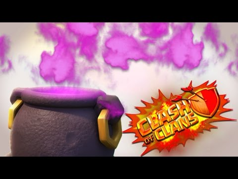 Perfect Cauldron Spawner Base! Clash of Clans Halloween Update Gameplay