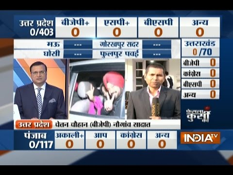 Punjab Election Results 2017: AAP likely to give tough competition to Congress, BJP in the state