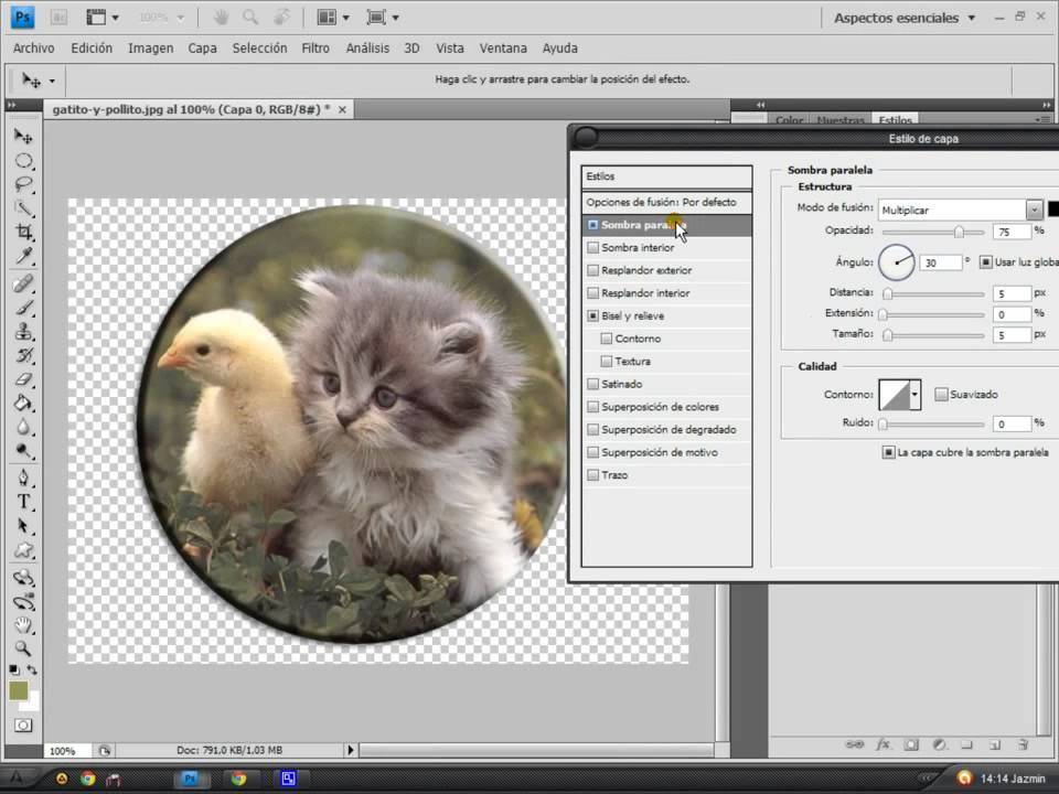 Tutorial Photoshop [Imagen con bordes redondeados   Botones - Logos ...