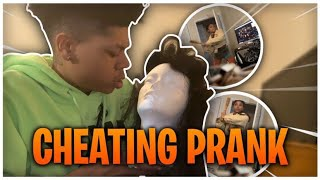 CHEATING PRANK ON MY GIRLFRIEND! *I WENT WAY TOO FAR*