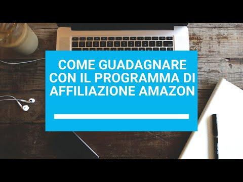 Come guadagnare con il programma di affiliazione Amazon