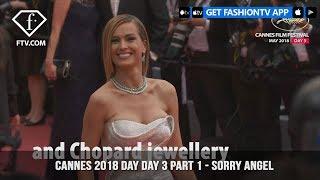Irina Shayk on Sorry Angel Red Carpet at Cannes Film Festival 2018 Day 3   FashionTV   FTV