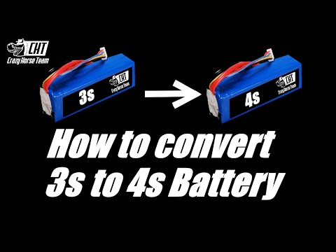 How to Convert  3 S Battery to 4 S battery (with subtitles)