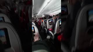 Turbulencia na Cordilheira dos Andes (Avianca)