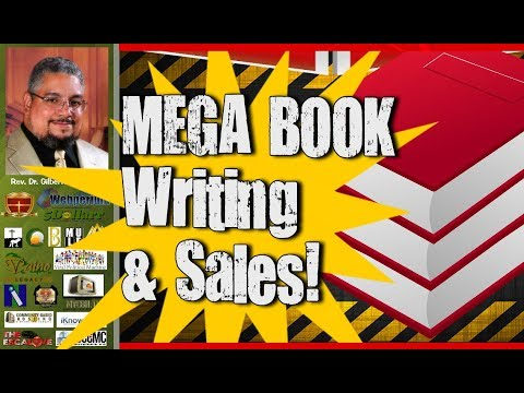 Mega Book Writing - Promotion - Sales And Your Degree