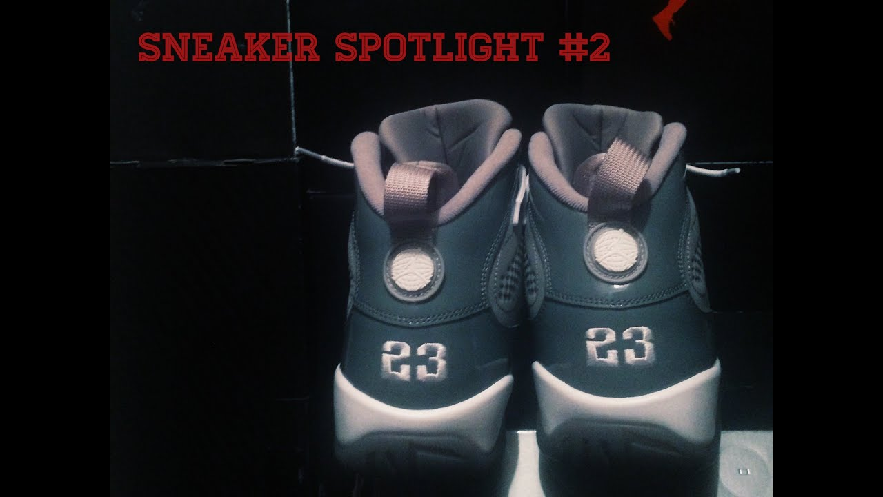 reputable site 75dbb ebdeb Sneaker Spotlight  2   Air Jordan 9 Cool Grey   On-Foot