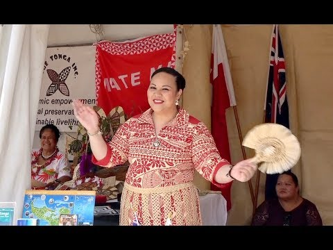 Kingdom of Tonga at the National Multicultural Festival - Canberra, Australia