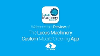 Lucas Machinery - Mobile App Preview - LUC662W