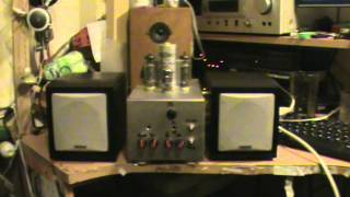 EL84 SE HIFI Mini Edition Stereo Valve Amp