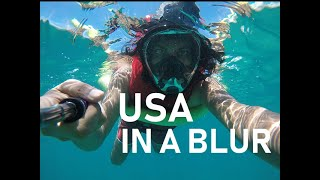 USA In A Blur | A Month Long Travel Video