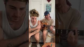 """""""Tragedy"""" live acoustic - Fly By Midnight #shorts"""