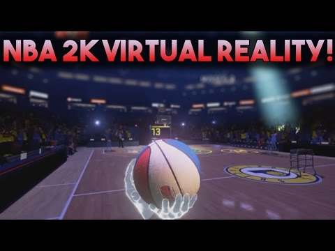 NBA 2K VIRTUAL REALITY GAME PLAY AND ANNOUNCEMENT!