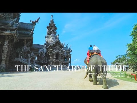 [HD] The Sanctuary of Truth Pattaya - Thailand Travel Guide